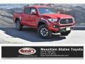 Toyota Tacoma TRD Off-Road Double Cab 4x4 Barcelona Red Metallic photo #1