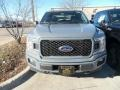 Ford F150 XL SuperCab 4x4 Abyss Gray photo #2