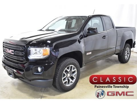 Onyx Black 2019 GMC Canyon All Terrain Extended Cab 4WD