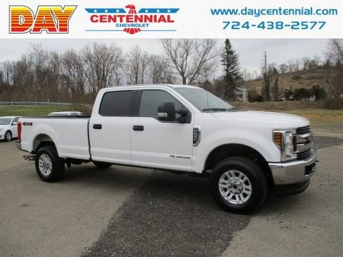 Oxford White 2018 Ford F250 Super Duty XLT Crew Cab 4x4