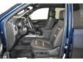 GMC Sierra 1500 AT4 Double Cab 4WD Pacific Blue Metallic photo #6