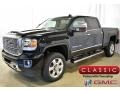 GMC Sierra 2500HD Denali Crew Cab 4WD Ebony Twilight Metallic photo #1