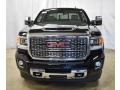 GMC Sierra 2500HD Denali Crew Cab 4WD Ebony Twilight Metallic photo #4