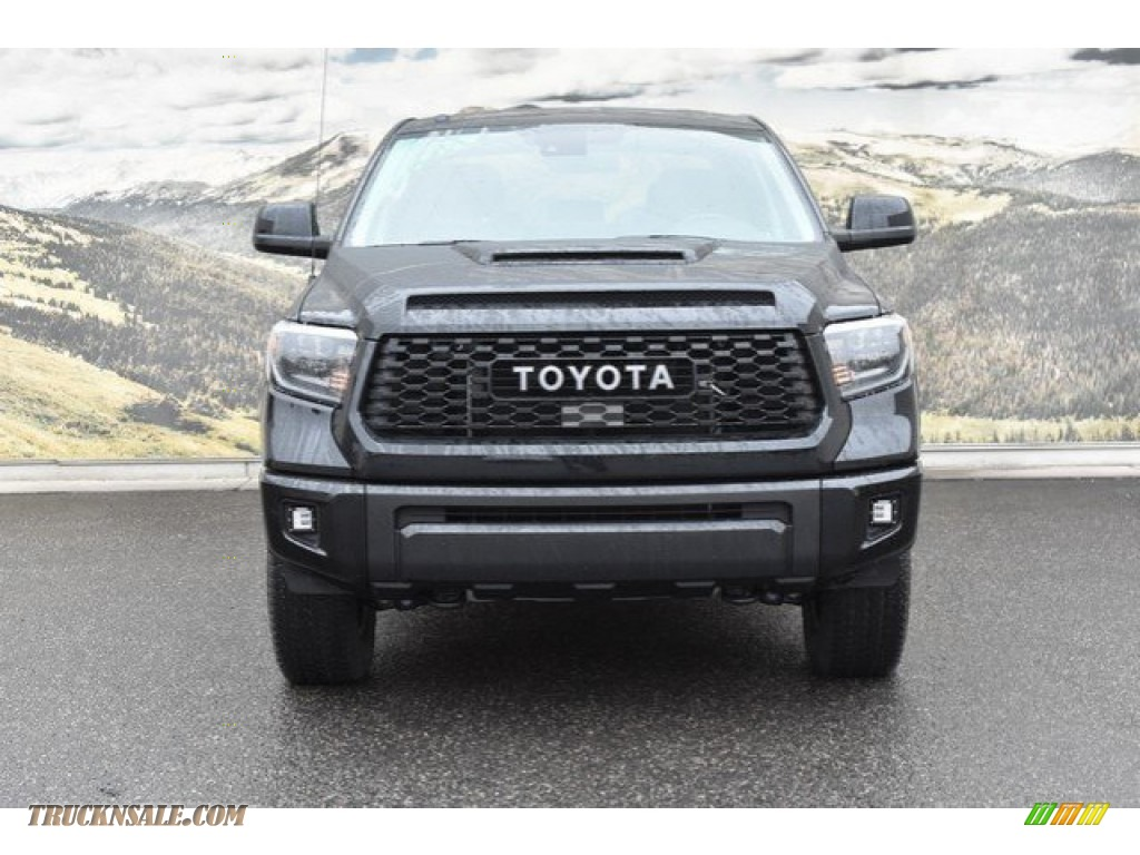 2019 Tundra TRD Pro CrewMax 4x4 - Midnight Black Metallic / TRD Pro Black w/Red Accent photo #2