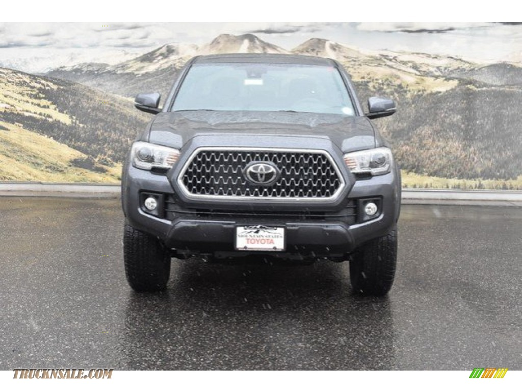 2019 Tacoma TRD Off-Road Double Cab 4x4 - Magnetic Gray Metallic / Black photo #2