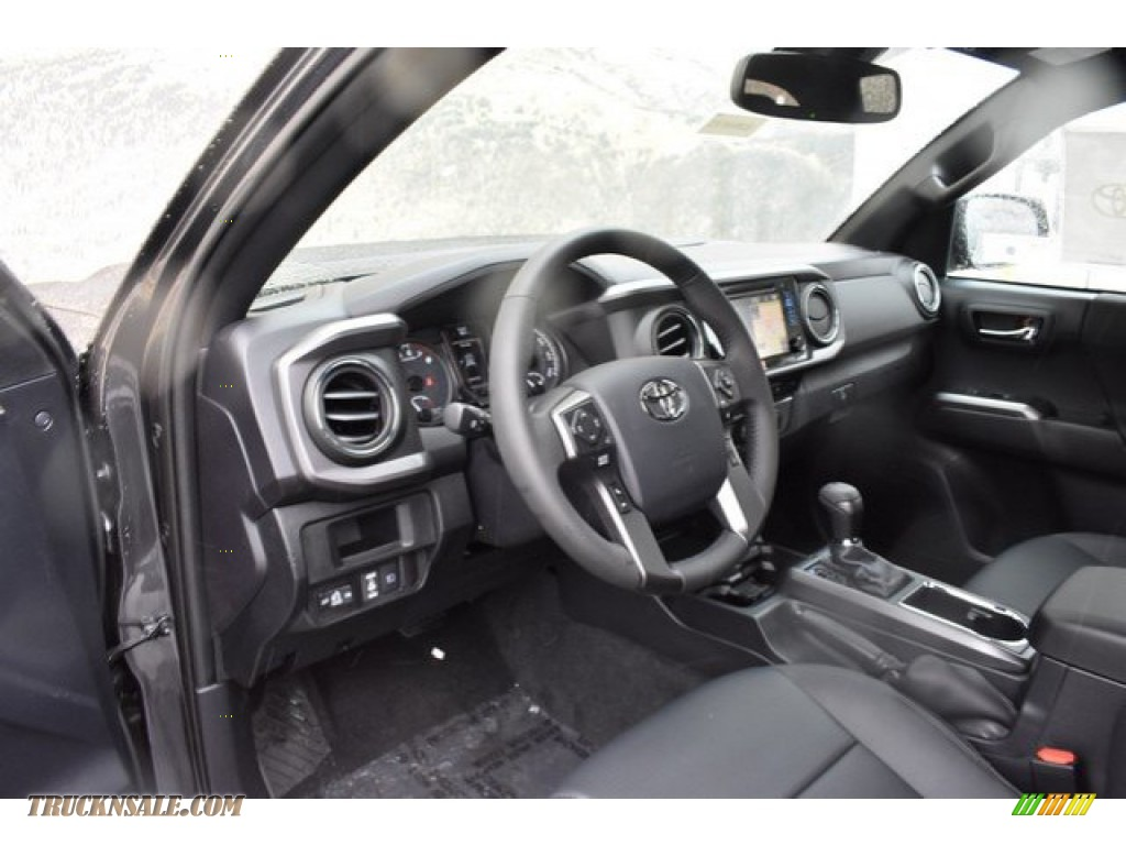 2019 Tacoma TRD Off-Road Double Cab 4x4 - Magnetic Gray Metallic / Black photo #5