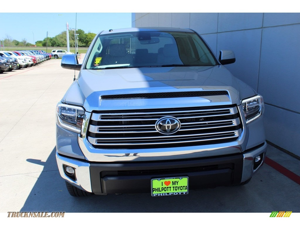 2019 Tundra Limited CrewMax 4x4 - Cement / Graphite photo #3