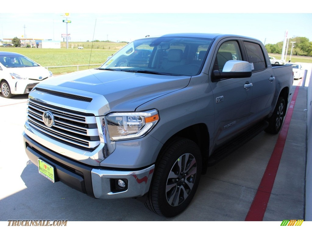 2019 Tundra Limited CrewMax 4x4 - Cement / Graphite photo #4