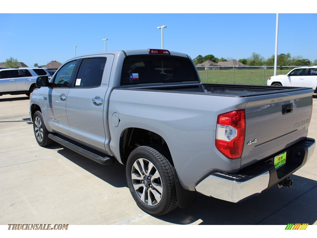 2019 Tundra Limited CrewMax 4x4 - Cement / Graphite photo #6