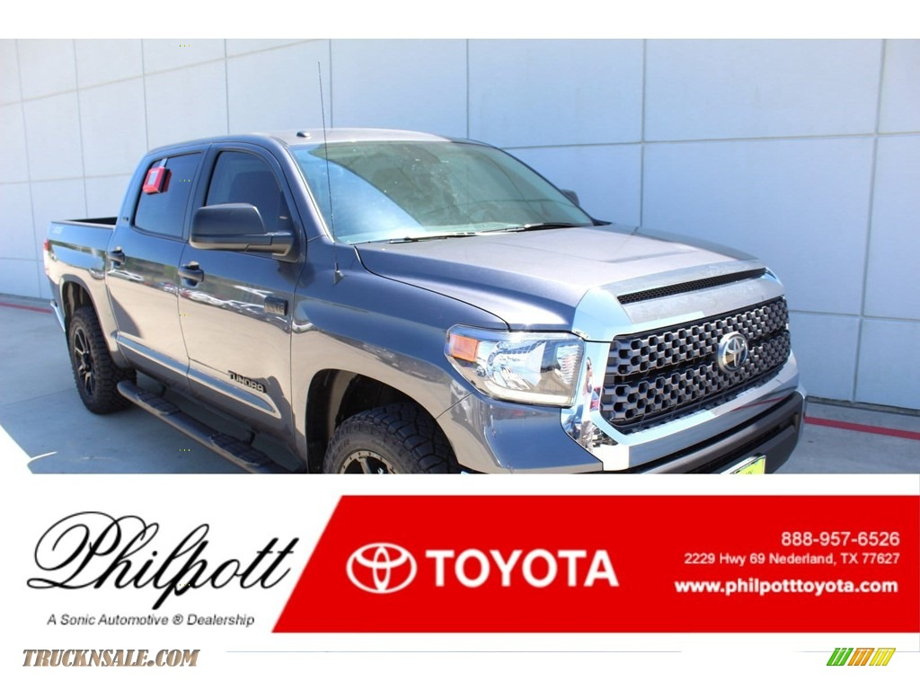 Magnetic Gray Metallic / Graphite Toyota Tundra TSS Off Road Double Cab 4x4
