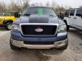 Ford F150 Lariat SuperCab 4x4 Medium Wedgewood Blue Metallic photo #2