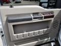 Ford F350 Super Duty Lariat Crew Cab 4x4 Silver Metallic photo #12
