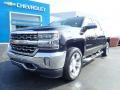 Chevrolet Silverado 1500 LTZ Crew Cab 4x4 Black photo #2