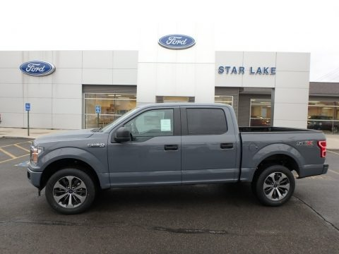 Abyss Gray 2019 Ford F150 STX SuperCrew 4x4