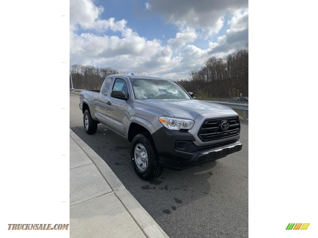 2019 Tacoma SR Access Cab 4x4 - Silver Sky Metallic / Cement Gray photo #3