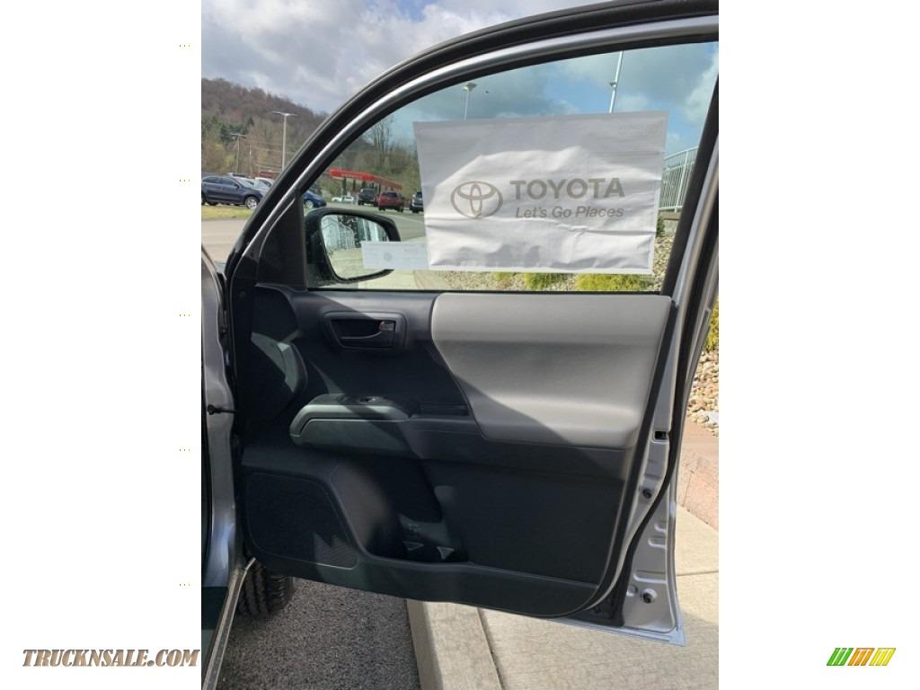 2019 Tacoma SR Access Cab 4x4 - Silver Sky Metallic / Cement Gray photo #21