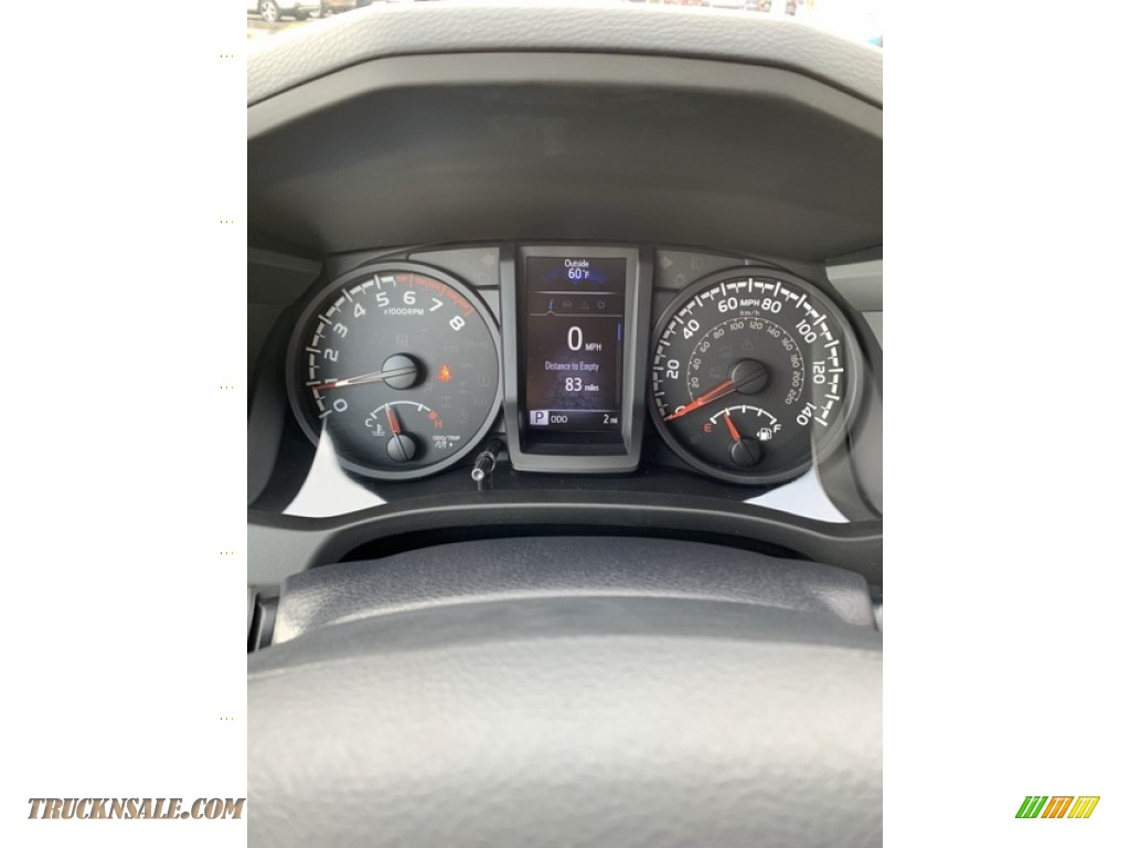 2019 Tacoma SR Access Cab 4x4 - Silver Sky Metallic / Cement Gray photo #25