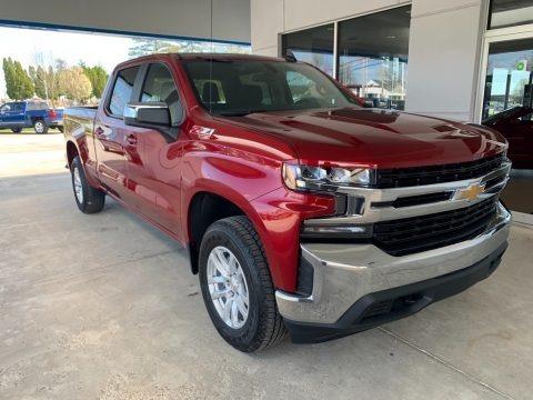 Cajun Red Tintcoat 2019 Chevrolet Silverado 1500 LT Crew Cab 4WD