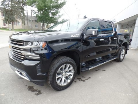 Black 2019 Chevrolet Silverado 1500 High Country Crew Cab 4WD
