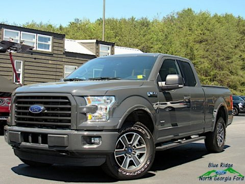 Lithium Gray 2016 Ford F150 XLT SuperCab 4x4