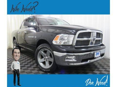 Black 2012 Dodge Ram 1500 Big Horn Crew Cab 4x4