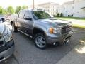 GMC Sierra 2500HD Denali Crew Cab 4x4 Steel Gray Metallic photo #7