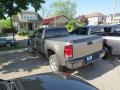 GMC Sierra 2500HD Denali Crew Cab 4x4 Steel Gray Metallic photo #14