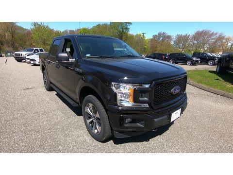 Agate Black 2019 Ford F150 XL SuperCrew 4x4