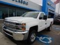 Chevrolet Silverado 2500HD Work Truck Regular Cab 4WD Summit White photo #1