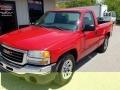 GMC Sierra 1500 Work Truck Regular Cab Fire Red photo #8