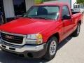 GMC Sierra 1500 Work Truck Regular Cab Fire Red photo #20
