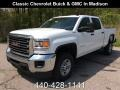 GMC Sierra 2500HD Crew Cab 4WD Summit White photo #1