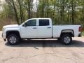 GMC Sierra 2500HD Crew Cab 4WD Summit White photo #3