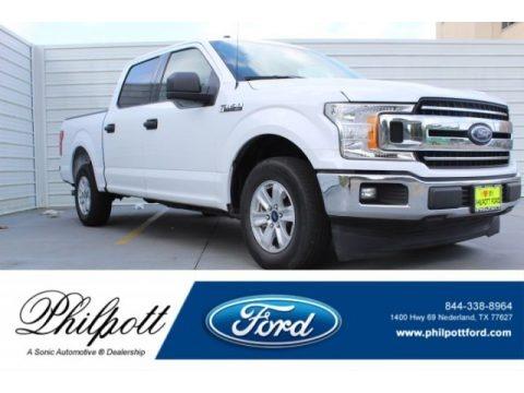 Oxford White 2018 Ford F150 XLT SuperCrew