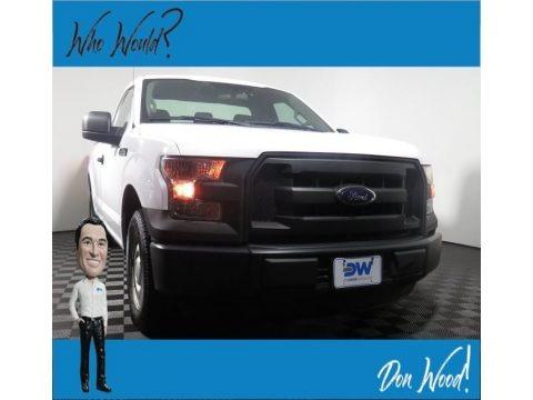 Oxford White 2016 Ford F150 XL SuperCab 4x4