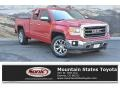GMC Sierra 1500 SLT Double Cab 4x4 Fire Red photo #1