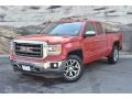GMC Sierra 1500 SLT Double Cab 4x4 Fire Red photo #5