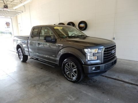 Magnetic 2016 Ford F150 XLT SuperCab 4x4