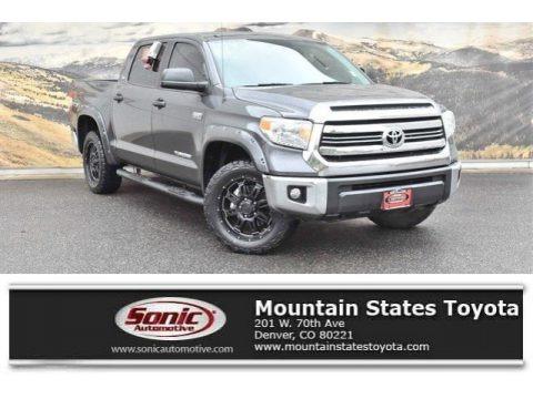 Magnetic Gray Metallic 2016 Toyota Tundra SR5 CrewMax 4x4