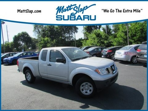 Brilliant Silver 2013 Nissan Frontier S King Cab