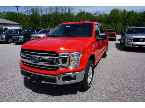Race Red 2019 Ford F150 XL SuperCrew 4x4