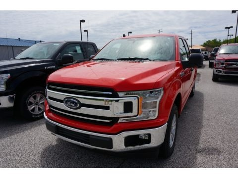 Race Red 2019 Ford F150 XLT SuperCrew