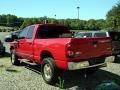 Dodge Ram 2500 SLT Quad Cab 4x4 Flame Red photo #4