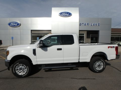 Oxford White 2019 Ford F250 Super Duty XLT SuperCab 4x4