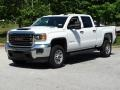 GMC Sierra 2500HD Crew Cab 4WD Summit White photo #5