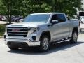 GMC Sierra 1500 SLE Crew Cab Quicksilver Metallic photo #5