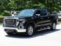GMC Sierra 1500 SLT Crew Cab Onyx Black photo #5