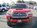 Toyota Tacoma SR5 Double Cab 4x4 Barcelona Red Metallic photo #2
