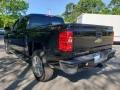Chevrolet Silverado 1500 Custom Crew Cab 4x4 Black photo #5