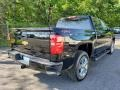 Chevrolet Silverado 1500 Custom Crew Cab 4x4 Black photo #6